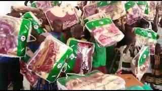 Weihnachtsfeiern in Uganda