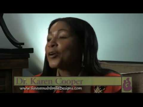 Video Thumbnail of Savannah dentist, Dr. Karen Cooper's introduction video