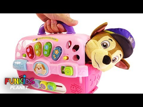 Paw Patrol Skye And Chase Dog Carriers Playset
