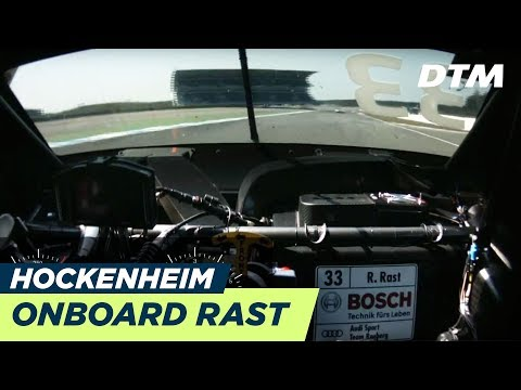 DTM Hockenheim 2018 - René Rast (Audi RS5 DTM) - RE-LIVE Onboard (Race 1)