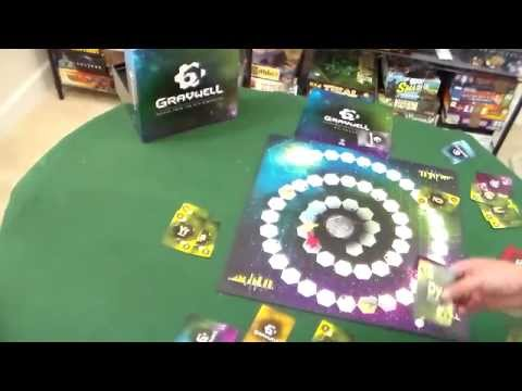 Board Game Review and Gameplay Demo - Gravwell