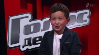 Рамиз Рулев - Санта Лючия  | Голос Дети 4. СП