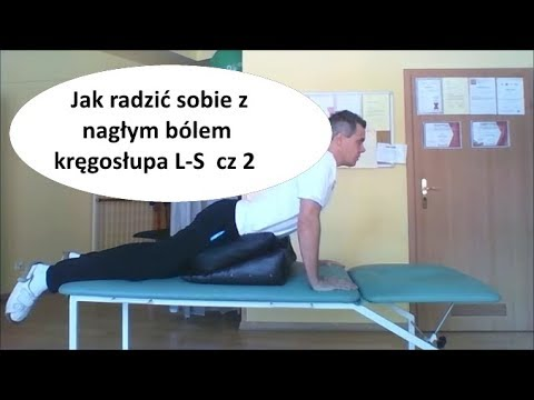 Podczas upadku i ból pleców