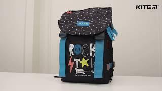 """Рюкзак подростковый Kite K18-817M-1 от компании Интернет-магазин """"Радуга"""" - школьные рюкзаки, канцтовары, творчество - видео"""