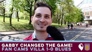 "FAN CAMS   Aston Villa 1-0 Birmingham   ""GABBY CHANGED THE GAME!"""