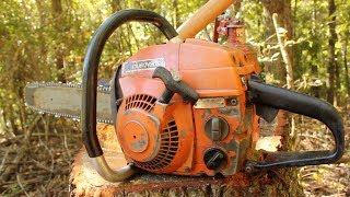 Husqvarna L65: Restoring a 40 Year Old Chainsaw