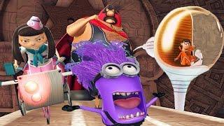 Despicable Me 2: Minion Rush Vector | Meena | Villaintriloquist | El Macho Evil Minion Boss