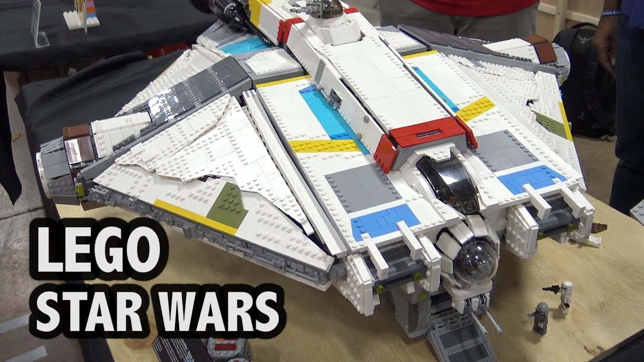 LEGO Ghost Ship from Star Wars Rebels (Brick Vault Design)