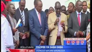 Rais Uhuru aapa kudumisha amani kabla na baada ya uchaguzi