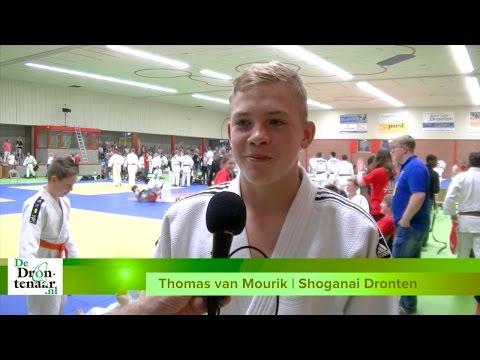 VIDEO | Thomas van Mourik winnaar bij judotoernooi Dronten
