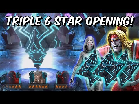 3x 6 Star Crystal Opening + 7x 5 Star Crystals &amp More! - Marvel Contest of Champions