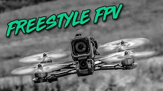 RAW Freestyle FPV // FLYING UNDER THE RAIN ????