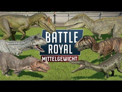 MITTELGEWICHT BATTLE ROYAL! - Jurassic World Evolution