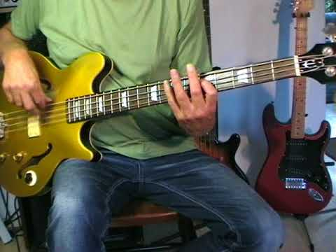 Cuby & The Blizzards - Appleknockers Flophouse - Bass Cover