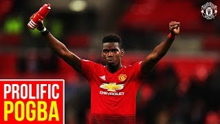 Prolific Pogba! | Goals and Assists | Manchester United