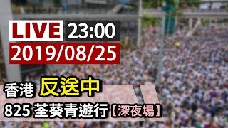 【完整公開】LIVE 香港反送中 825荃葵青遊行(深夜場)