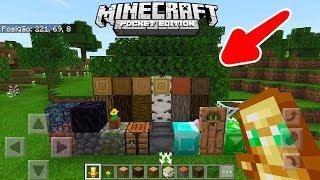 SAIU! NOVA ATUALIZAÇÃO DO MINECRAFT POCKET EDITION E NOVA TEXTURA PADRÃO! (Minecraft PE )