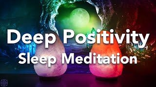 Tiefe Positivität Geführte Schlafmeditation vor dem Schlafen Meditation mit Affirmationen