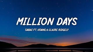 Sabai - Million Days (Acoustic) ft. Hoang & Claire Ridgely