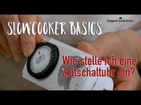 Slowcooker Basics: Wie koppelt man Zeitschaltuhr und Slowcooker?
