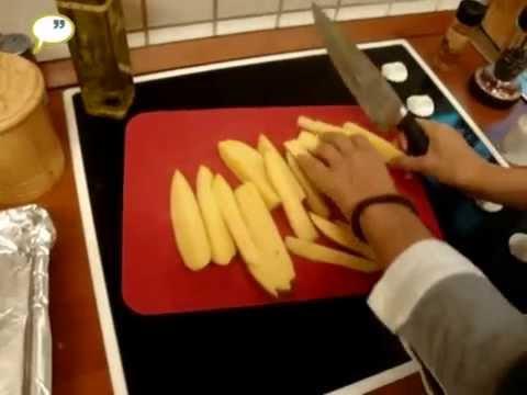 ΤΕΛΕΙΕΣ – Πατάτες φούρνου τραγανές σαν τηγανιτές με ένα απλό κολπάκι! [video]