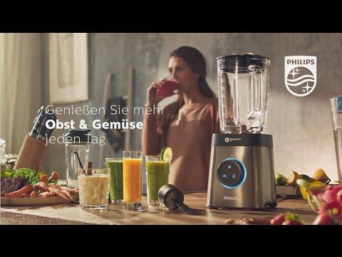 Der Philips Hochleistungsmixer HR3655 für besonders feine Smoothies