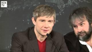 The Hobbit UK Conference - Martin's Interview - RedCarpetNewsTV