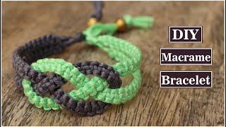 How To Make Macrame Bracelets | DIY Thread Bracelet | Handmade Jewelry Ideas | Creation&you