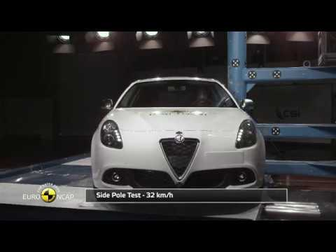 Euro NCAP Crash Test of Alfa Romeo Giulietta