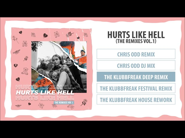 Zephyrtone - Hurts Like Hell (The Remixes Vol.1) Album Pre-listen [Official]