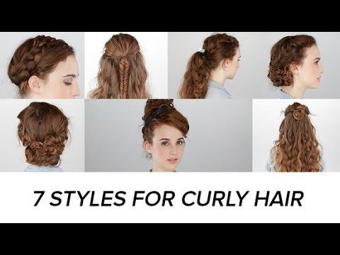 7 εύκολα χτενίσματα για πολύ σγουρά μαλλιά  thumbnail