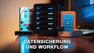 Datensicherung und Workflow für Filmemacher und Fotografen I TUTORIAL I 4K