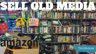 Selling OLD Media On Amazon FBA! VHS Tapes, CDs, Cassettes | Easy Money!