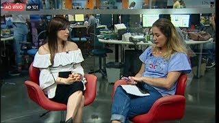 Entrevista com a dermatologista Pauline Lyrio no Gazeta Online