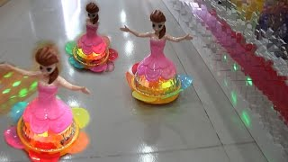 Dancing Princess Robot With Music And 4D Lights For Kids, Baby Childrens