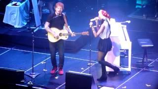 Christina Perri + Ed Sheeran - Be My Forever (Live)