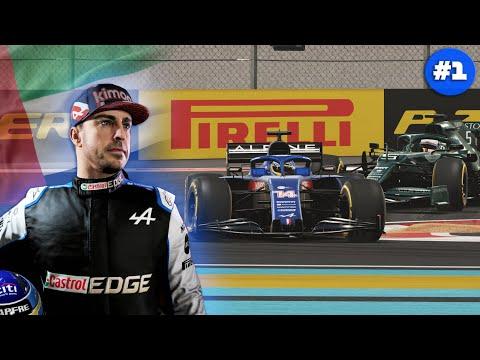 CAMPEONATO FERNANDO ALONSO Y ALPINE MOD F1 2021   ABU DHABI