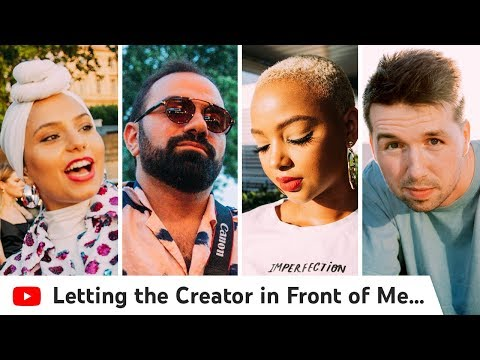 Letting The Creator In Front Of Me Choose What I Vlog | Creator Summit Paris Edition