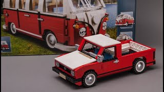 Age 16+ LEGO set 10220 alternative model Volkswagen PICKUP moc