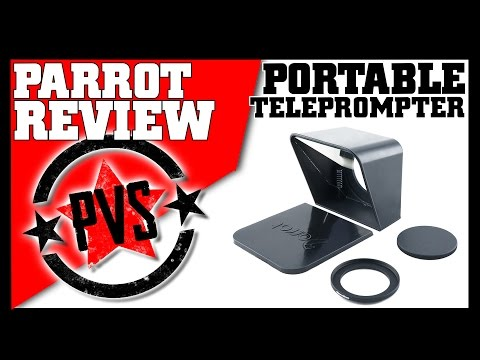 The Ultimate Portable Teleprompter!