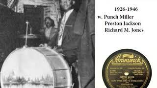 "Clifford ""Snags"" Jones (1900-1947) – Drums Legends"