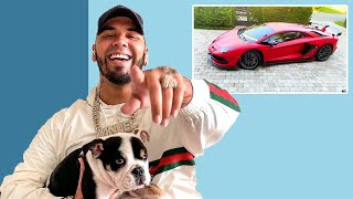 10 Things Anuel AA Can't Live Without | GQ