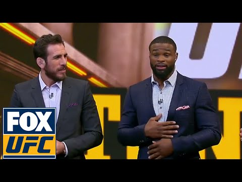 Tyron Woodley will fight Demian Maia for the Welterweight Title | UFC TONIGHT