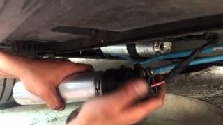 BMW F10 Kraftstofffilter, Dieselfilter wechseln