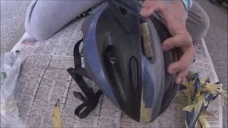 ヘルメットの塗装してみた
