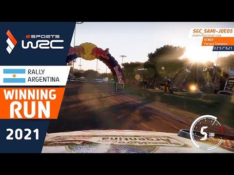 E-sports WRC2021 アルゼンチン ウィニングラン動画