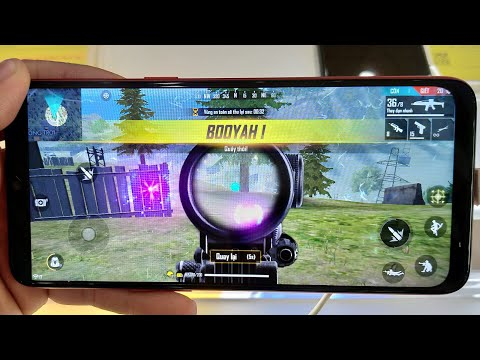 TEST GAME - FREE FIRE - ON SAMSUNG A51...RAM 6GB SNAP EXYNOS 9611 BATTERY 4000mAh...!!!