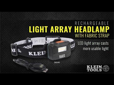 Klein Rechargeable Light Array Headlamp