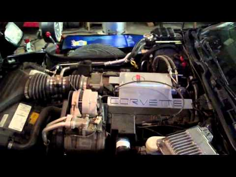 How To Replace A 1990's Corvette Fuel Filter And Fuel Pump