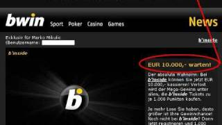 Bwin Poker - How I Refused Free 10.000 Euro